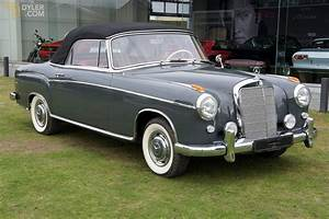 Classic 1959 Mercedes-benz 220 S Convertible For Sale
