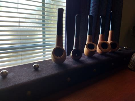 homemade magnetic pipe rack pipetobacco