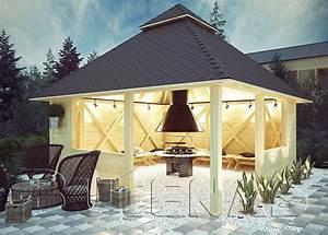 Grillpavillon Selber Bauen : grillpavillon viola grillh tte oder carport allesk nner butenas ~ Eleganceandgraceweddings.com Haus und Dekorationen