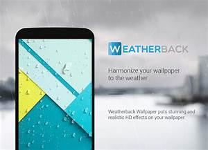 Weather Live Wallpaper: Home Screen Forecast 💧