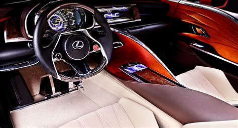 lexus lc interior lexus lf lc concept headed to production