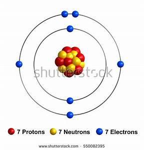Bohr Model Nitrogen