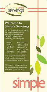 Simple Servings : Hospitality Services