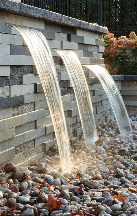 Techo-Bloc Graphix Water Feature
