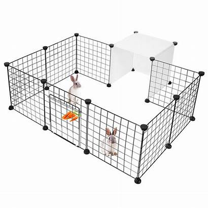 Fence Portable Playpen Animal Wire Cage Pet