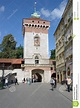 St. Florian's Gate In Krakow, Poland Editorial Stock Photo ...