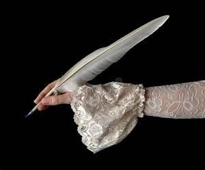 Edredon Plume D Oie : criture classique de main avec la plume d 39 oie image stock image 37611567 ~ Nature-et-papiers.com Idées de Décoration