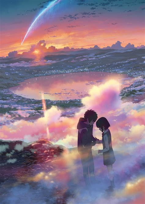Anime Your Name Kimi No Na Wa Link 2016 Random Thoughts Kimi No Na Wa Your Name Image 2141685 Zerochan