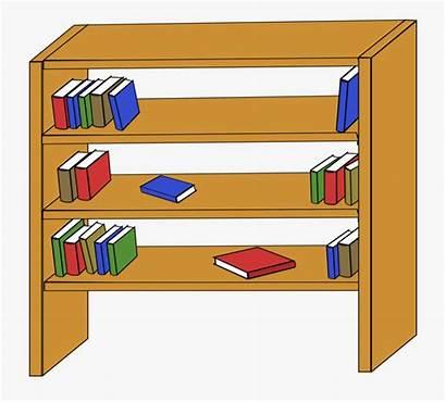 Clip Books Library Furniture Shelf Shelves Clipart