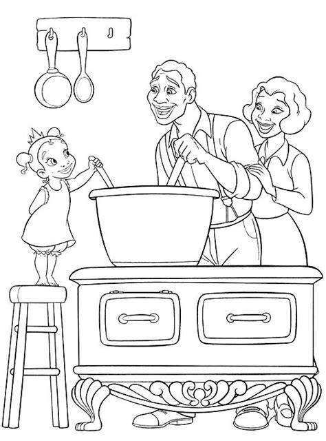 la cuisine des filles dessins de cuisine à colorier