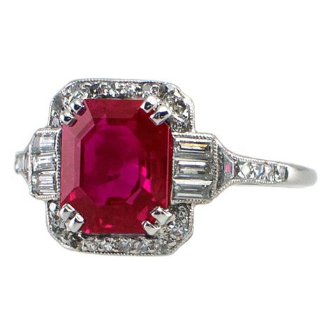deco ruby ring deco ruby ring