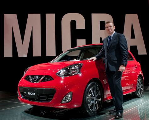 nissan micra debuts   montreal auto show