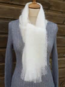 Echarpe Femme Laine : echarpe laine mohair femme ecru laine mohair la ferme d 39 aur ~ Nature-et-papiers.com Idées de Décoration