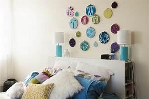 Wandgestaltung Selber Machen : bett kopfteil selber bauen kreative bastelideen und bilder ~ Lizthompson.info Haus und Dekorationen