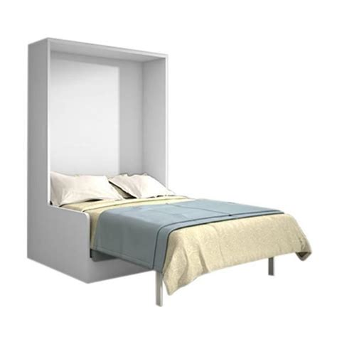 armoire lit canap pas cher armoire lit 140x200 chêne blanc avec canapé achat