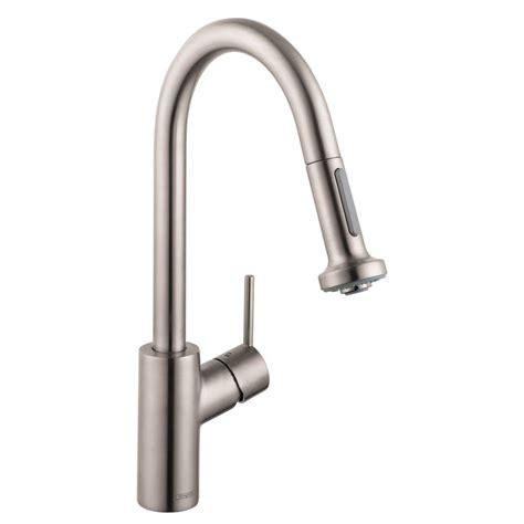 kohler black kitchen faucets kohler simplice single handle pull down sprayer kitchen faucet in matte black k 597 bl the