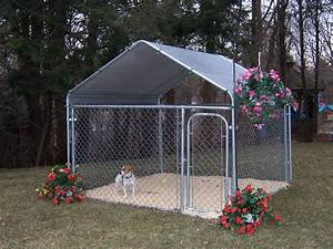 Barns2go portable barns horse stalls shelters car garages for Covered dog pen