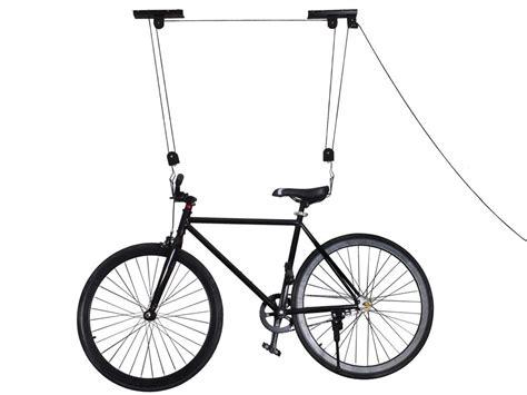 ceiling mount bicycle lift storage hook bike lifts hanger hoist ceiling garage bicycle puller