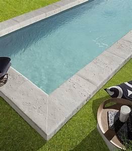 Margelle Pour Piscine : r sultat de recherche d 39 images pour margelle de piscine travertin large piscine pinterest ~ Melissatoandfro.com Idées de Décoration