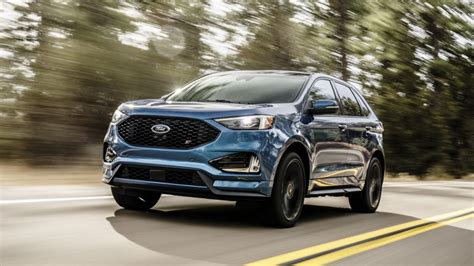 ford crossover black ford edge st puts ford performance tuning in a crossover
