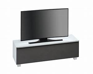 Tv Lowboard Akustikstoff : tv lowboard tv board soundboard wei glas wei schwarz akustikstoff neu 29509 ~ Whattoseeinmadrid.com Haus und Dekorationen