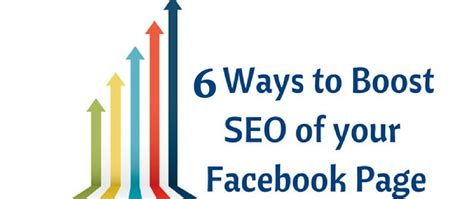 How Optimize Your Facebook Business Page For Seo