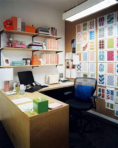 shelves above desk midcentury work space home office design ideas lonny