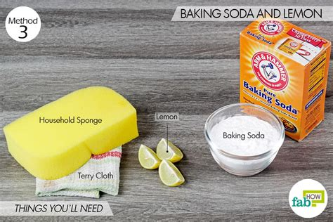 clean sink with baking soda cleaning sink with baking soda and lemon sinks ideas