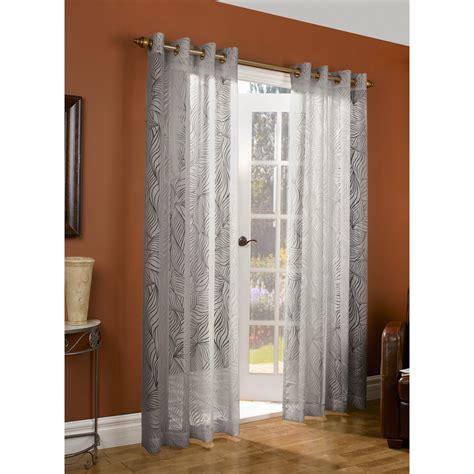 couture paradise burnout curtains 104x84 quot grommet top