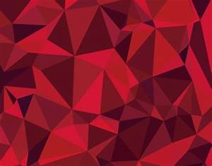 Free Red Polygon Background Vector - TitanUI