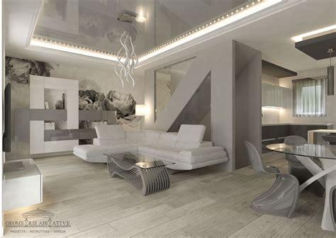 arredamento interni casa casa con arredamento moderno geometrie abitative