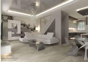 Casa Con Arredamento Moderno