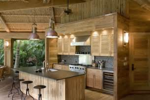 kitchen island table with stools tropical kitchen