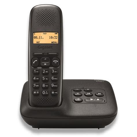 telephone interieur sans fil achat vente t 233 l 233 phone fixe sans fil avec r 233 pondeur gigaset a150a