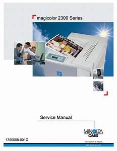 Konica Minolta Qms Magicolor 2300 Service Manual Download