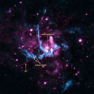 Evidence for jet from Milky Way's black hole | Today's ...