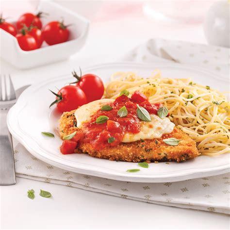 poulet cuisine escalopes de poulet parmigiana recettes cuisine et