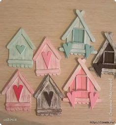 turn popsicles   adorable bird house summer diys