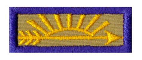 arrow of light patch cub scout pack 55 earn vs