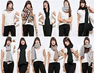 Comment Mettre Une Cravate : comment porter mettre nouer une charpe nouer et ~ Nature-et-papiers.com Idées de Décoration