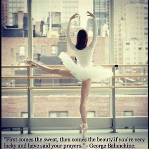Inspirational Quotes About Ballet. QuotesGram