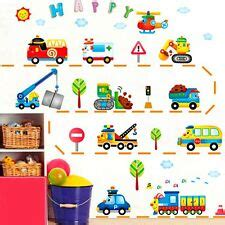 Wandtattoo Kinderzimmer Junge Auto by Fahrzeuge Wandaufkleber F 252 R Kinder G 252 Nstig Kaufen Ebay