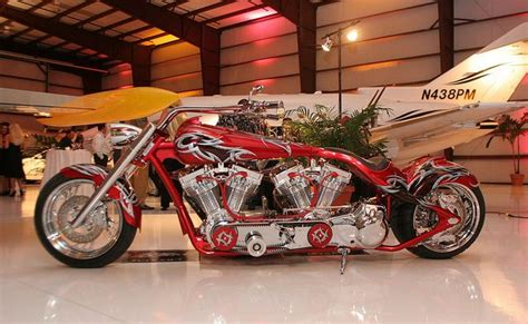 Engine, Twins And Custom Bikes