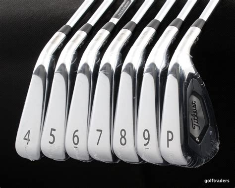 Titleist Ap3 718 Irons 4-pw Amt Tour White S300 Steel