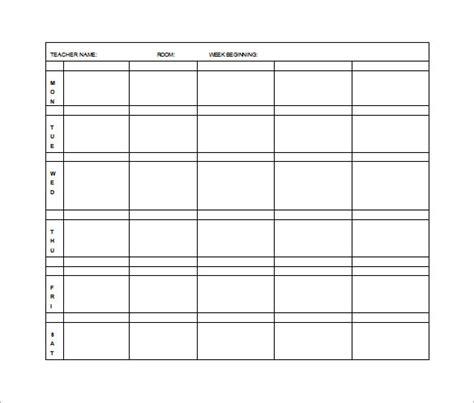 weekly lesson plan template pdf elementary lesson plan template 10 free word excel pdf format free premium