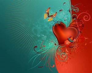 Valentine's Heart Hintergrundbilder