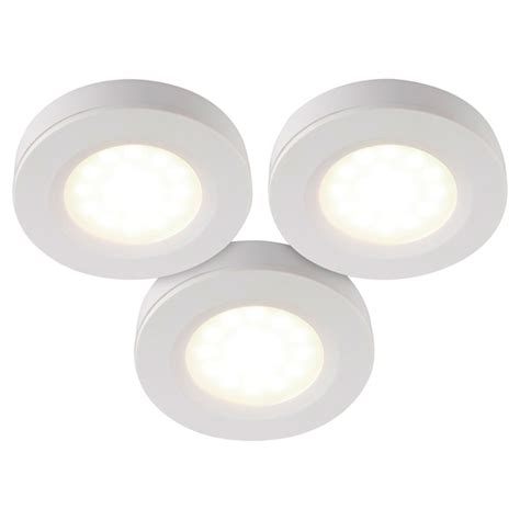 cabinet led puck lights 3 pack rona