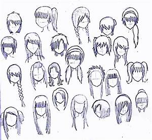 24 girls hairstyles by MatsudaKeiko on DeviantArt