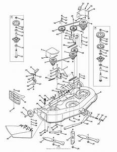 Mtd 13bx775h031  2009  Parts Diagram For Mower Deck 46 Inch