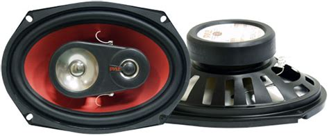 6x9 speakers with led lights pyle red 6x9 speakers 400 watts 3 way